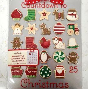 NWT 🎄 Magnetic Christmas Calendar Countdown
